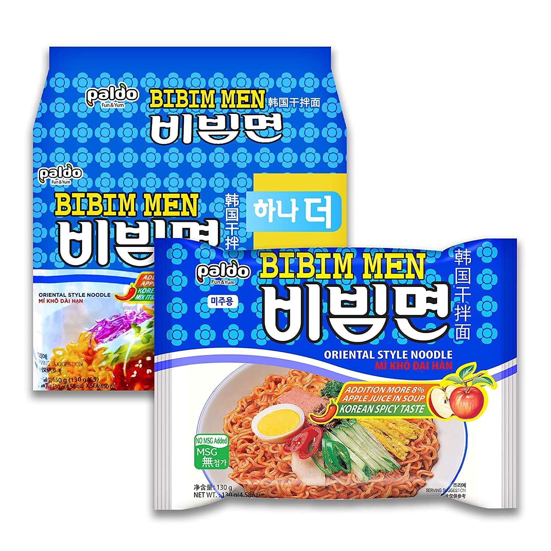 Packages of Korean Bibimmyeon.