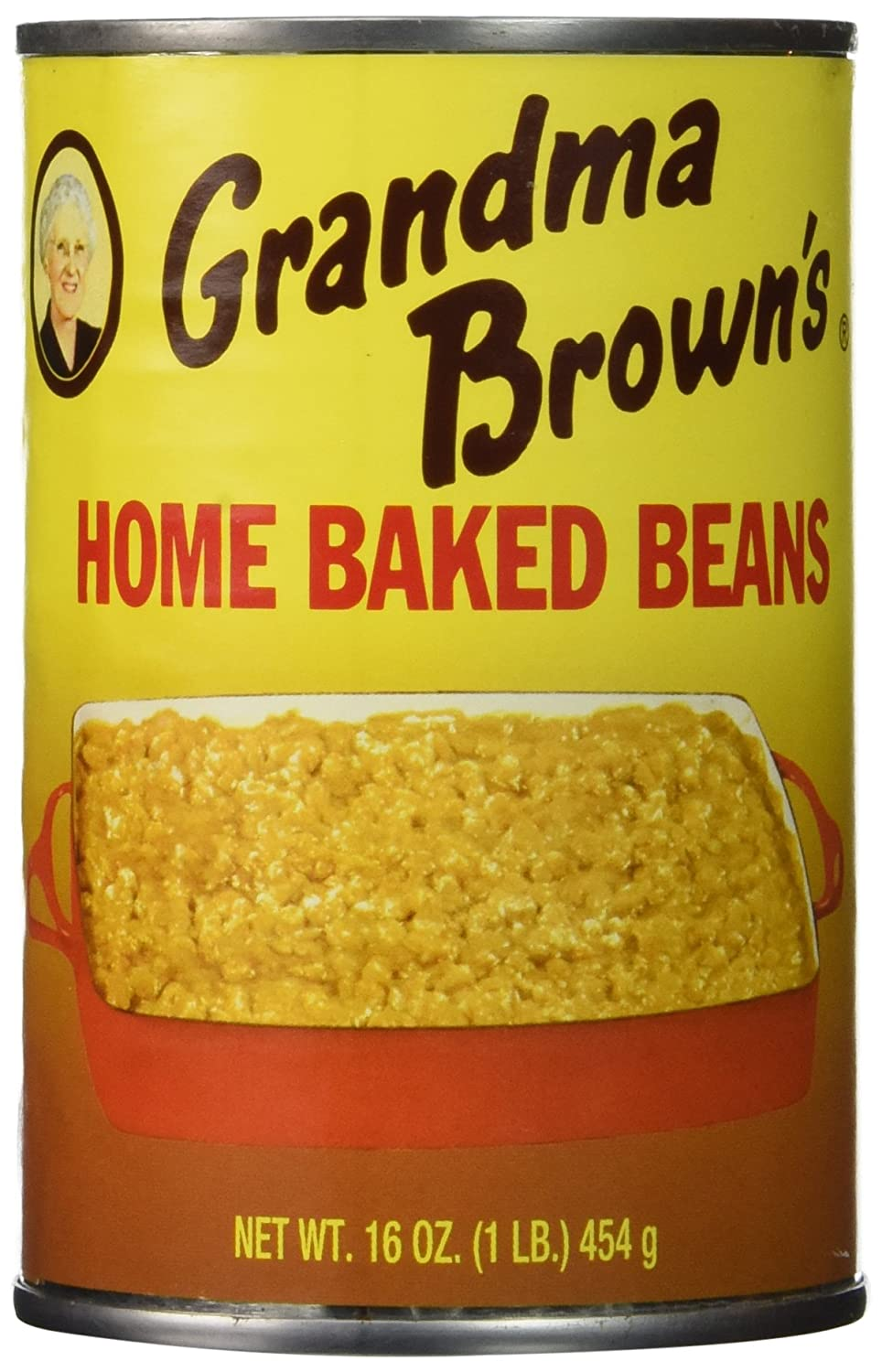 Grandma Brown's Home Baked Beans (Pack of 3) 16 oz Cans