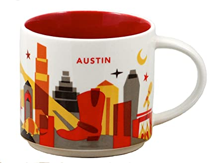 Collection Starbucks Are Austin Coffee You Here Mug QrCtxshd