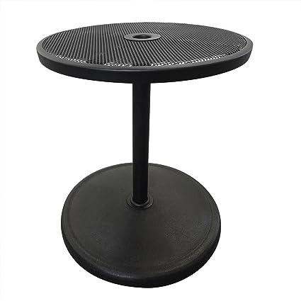 Island Umbrella NU5392 Base With Adjustable Table Top, 19.68u0026quot; X  19.68u0026quot; ...