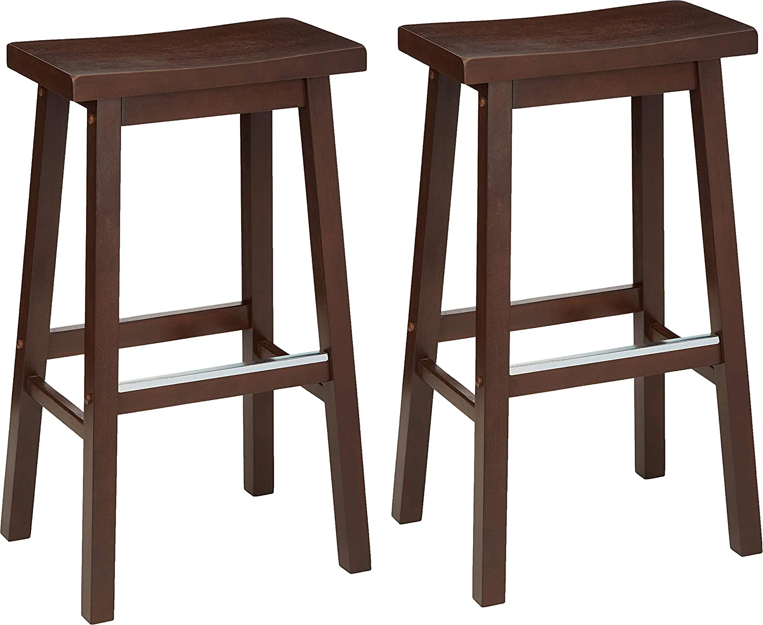 best set of 2 bar stool, buy 2 backless bar stool online