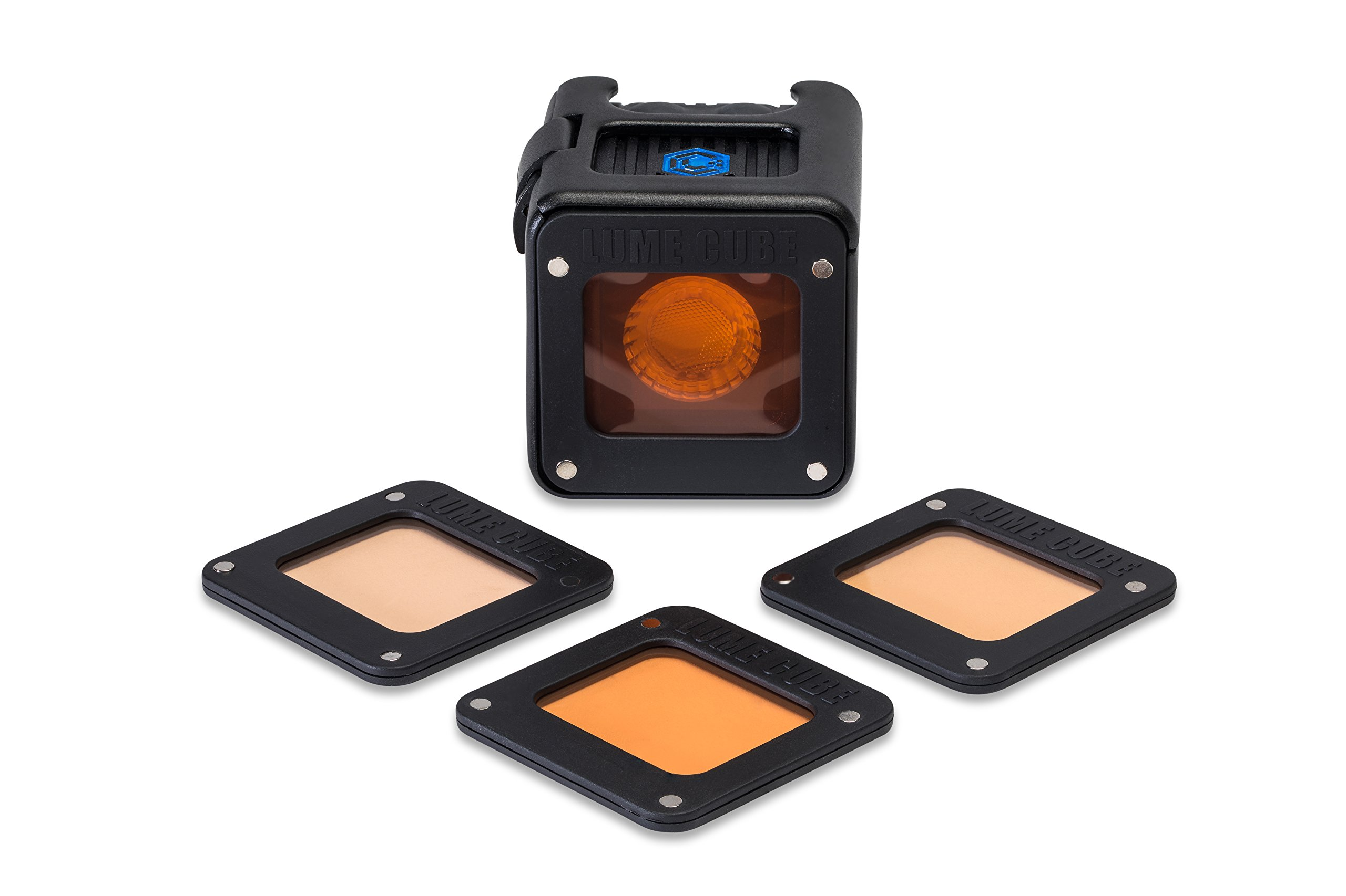 Lume Cube - CTO Warming Gels for the Light-House (Includes 4 Warming Gels) by LUME CUBE