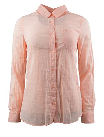 e5873cca Image Unavailable. Image not available for. Color: Banana Republic Womens  Crinkle Classic Fit Button Down Shirt ...