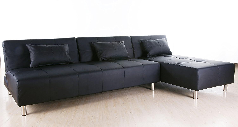Amazon.com: Gold Sparrow Atlanta Convertible Sectional Sofa Bed ...