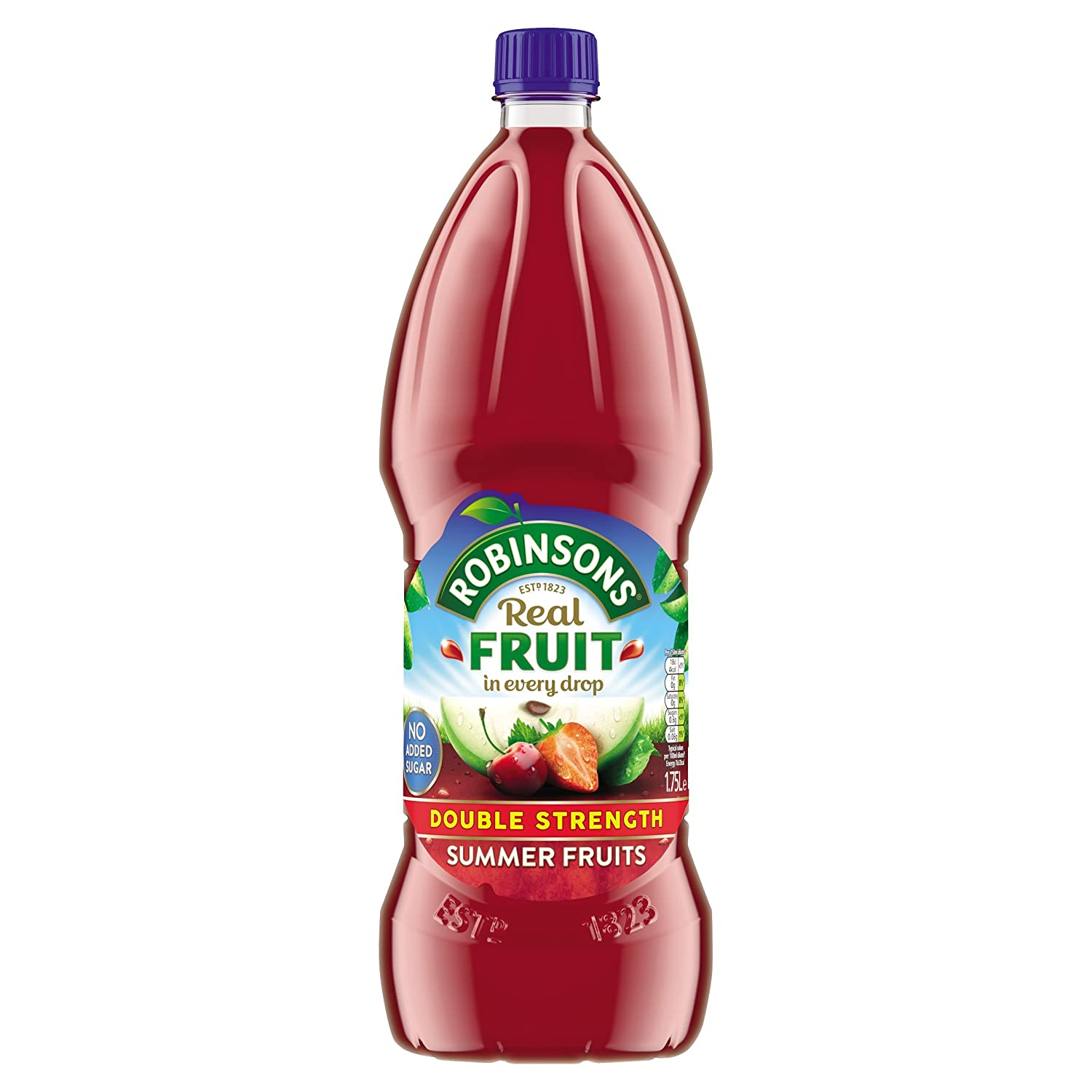 Robinsons Double Concentrate Summer Fruits Squash 175l Amazonco Sucralose Tate Lyle 100ml Grocery