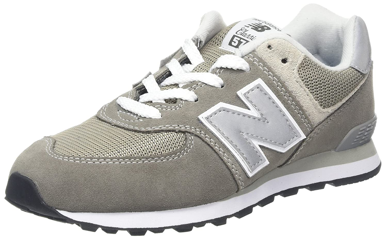 New Balance - Unisex-Baby 574 IC574 Schuhe 20 EUR - Width W grau