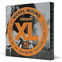 D'Addario EXL110-3D - Juego de cuerdas para guitarra