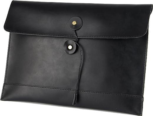 Women Black Art Horse Wallet Real Leather Purse for Phone Girl Men