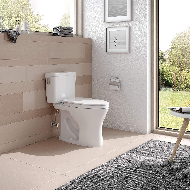 Cotton White TOTO CST746CUMFG#01 Drake Two Piece Toilet