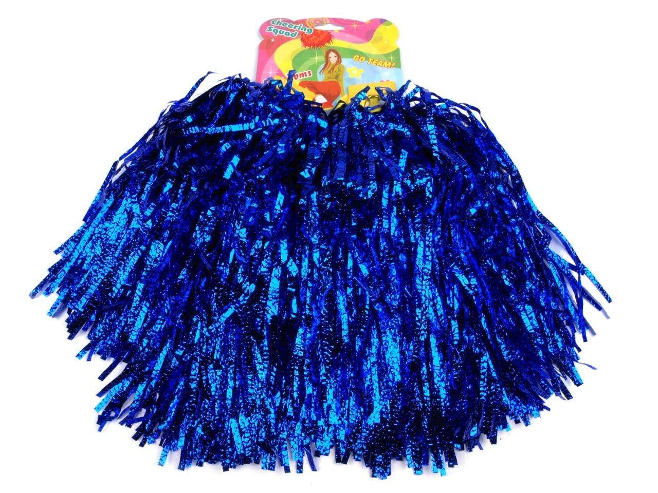 Lot de 2Pompons pom-pom girl cheerleader danse Wedel Puschel 1Paire de plusieurs couleurs Schnoschi