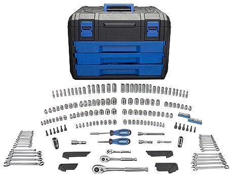 Awe Inspiring Kobalt 227 Piece Standard Metric Mechanics Tool Set With Case 86756 Theyellowbook Wood Chair Design Ideas Theyellowbookinfo