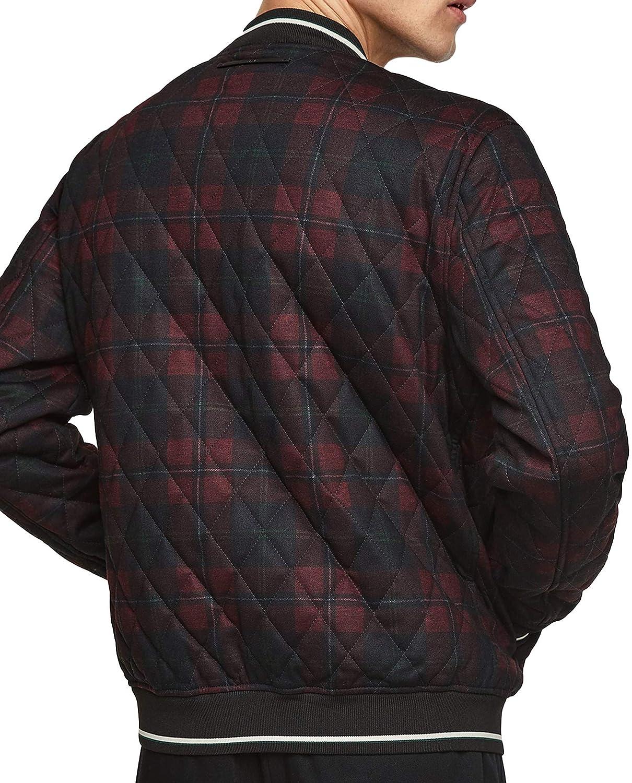 2c41d0deb Zara Men Quilted Checked Bomber Jacket 4432/451 at Amazon Men's ...