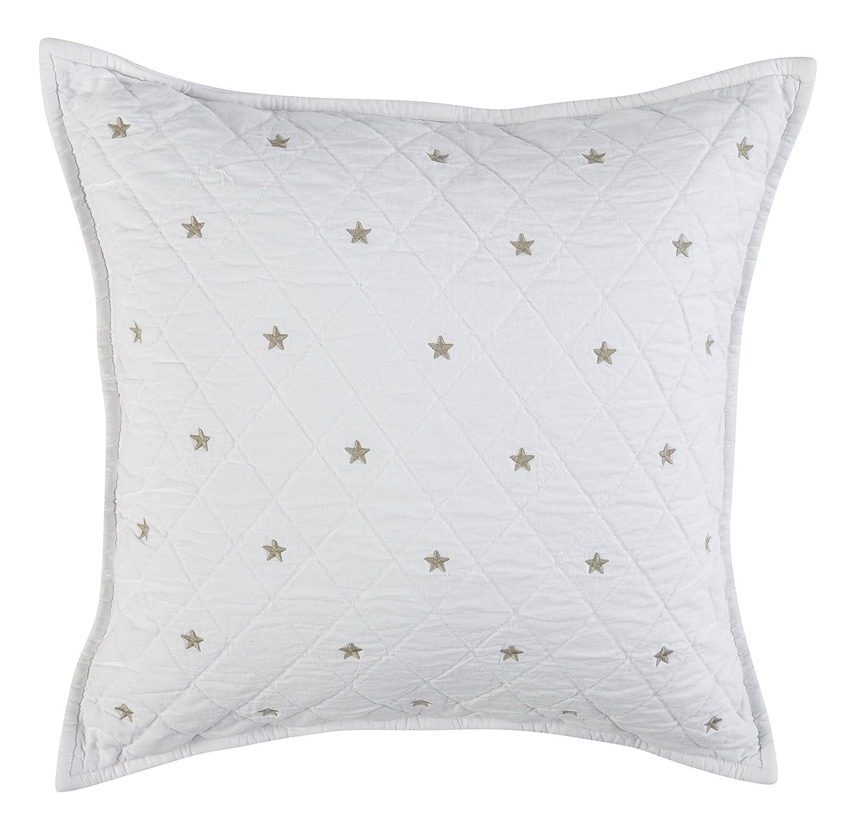 Grand Design 5366–2 Sterne Sand Steppdecke, weiß
