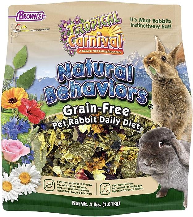 Top 9 Tropical Carnival Rabbit Food