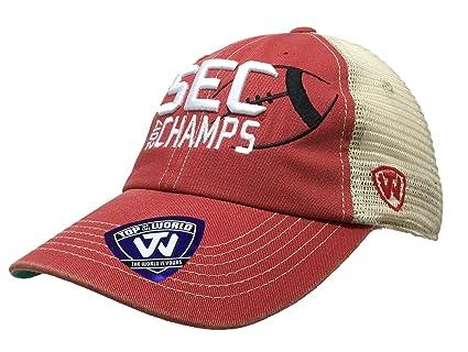 66dbaa6b495 Amazon.com   Top of the World Georgia Bulldogs 2017 NCAA Sec ...