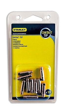 Stanley 460606 - Punta para soldadura (diámetro: 0,6 mm, 10 piezas