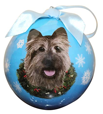 Cairn Terrier Christmas Ornament Shatter Proof Ball Easy To Personalize A  Perfect Gift For Cairn Terrier - Amazon.com: Cairn Terrier Christmas Ornament Shatter Proof Ball Easy