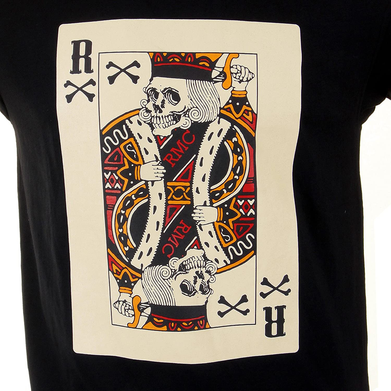 RMC Martin Ksohoh Black Poker Playing Card T-Shirt REDM1165