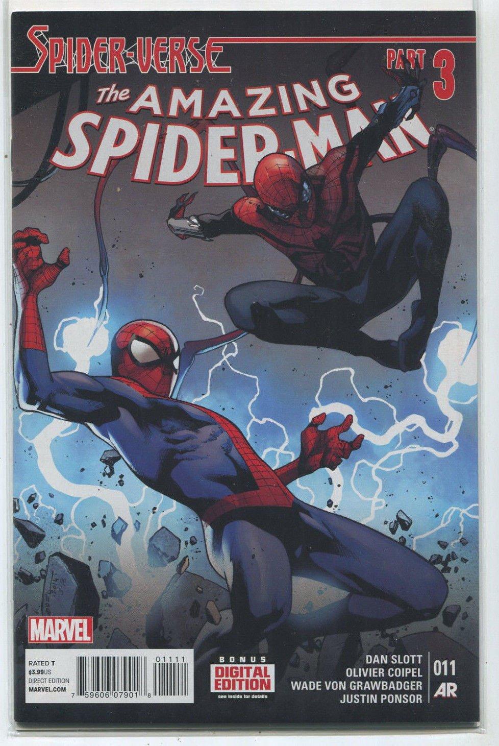 The Amazing Spider-Man Part 3 NM Spider-Verse Slott Coipel Marvel Comics X1