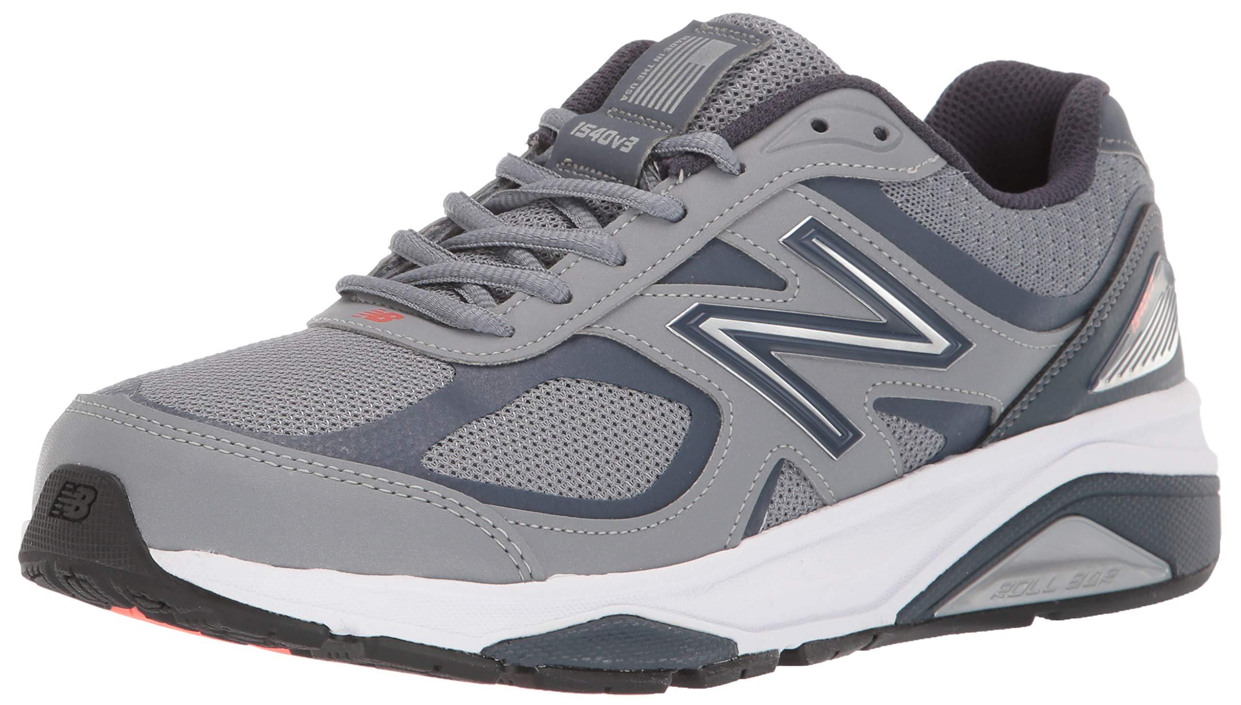 New Balance Women's 1540v3 Running Shoe, Gunmetal/Dragonfly, 5 M US