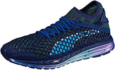 88fabe0b746 Puma Speed Ignite Netfit Champs Mens Running Shoes - Blue  Amazon.co ...