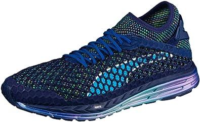 fe2e048dcfa Puma Speed Ignite Netfit Champs Mens Running Shoes - Blue  Amazon.co ...