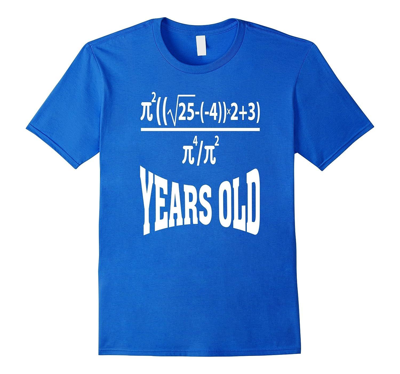 21 Years Old Algebra Equation Funny 21st Birthday Math Shirt-BN