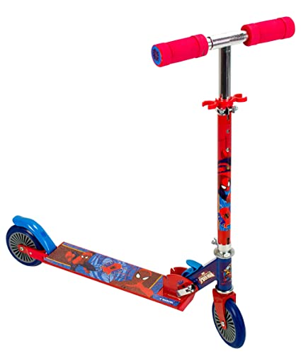 Amazon.com: Ultimate Spiderman Scooter with Two Wheels for ...