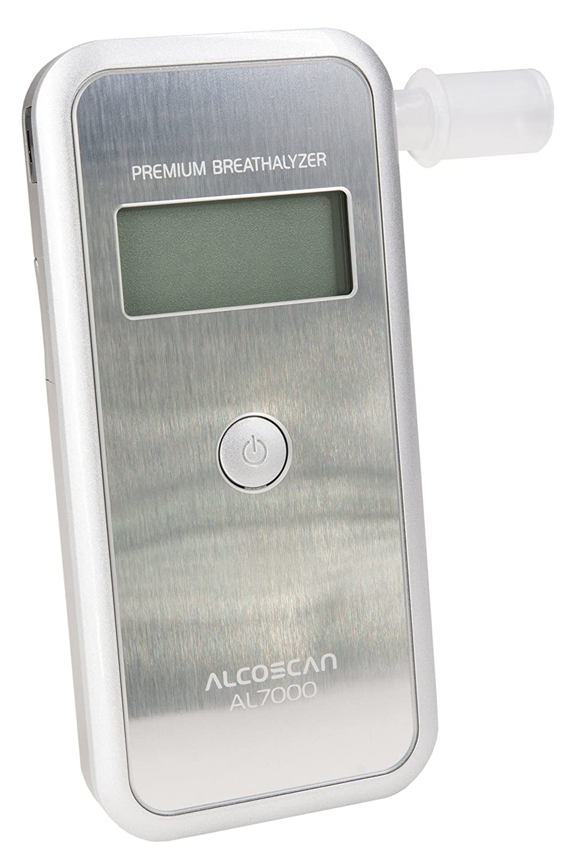 Digitaler Alkoholtester AL-7000 (silber) / Messbereich: 0.00-4.00‰ / Messgenauigkeit: 0, 01‰ 01‰ SENTECH