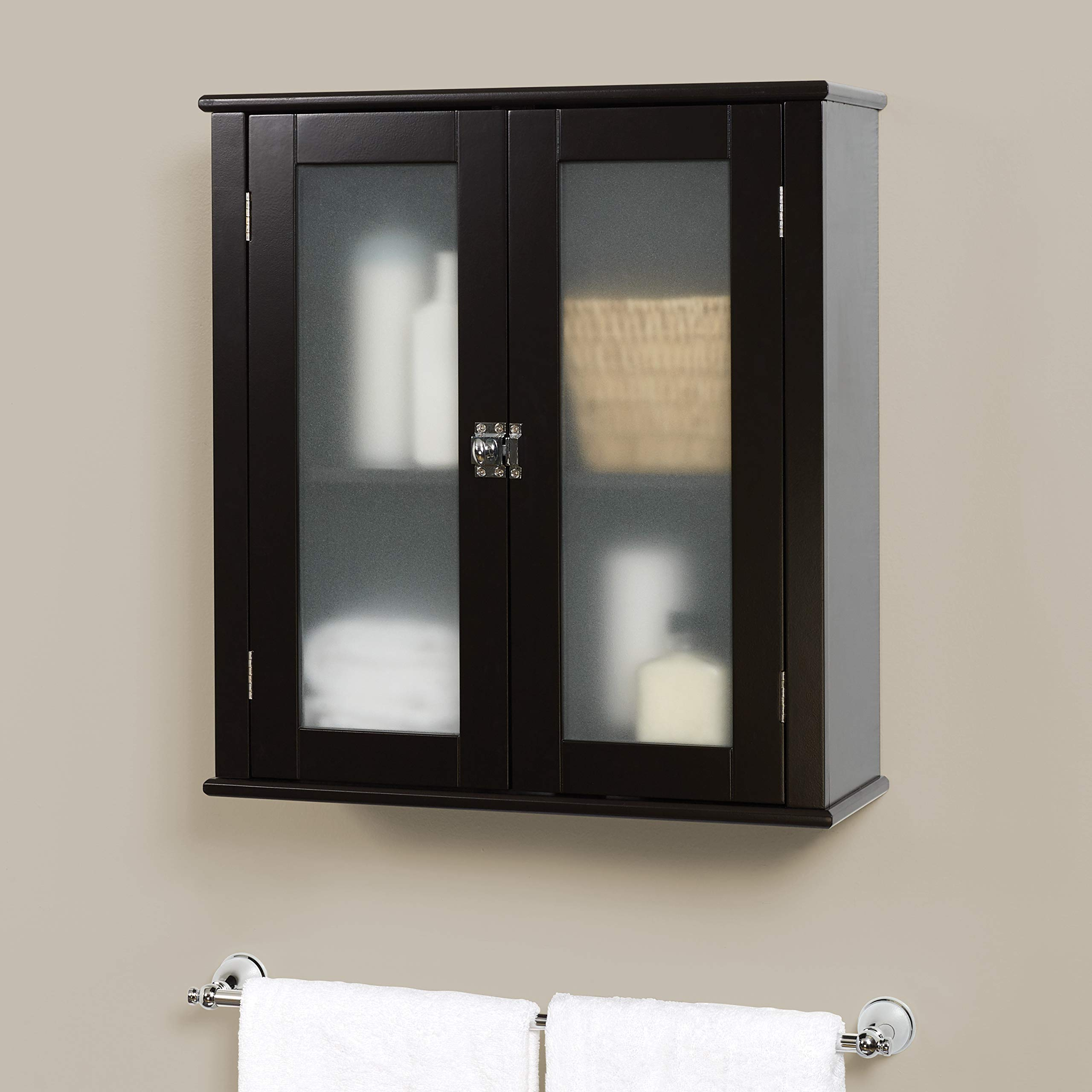 Zenna Home Classic Wall Cabinet, Espresso by Zenna Home (Image #2)