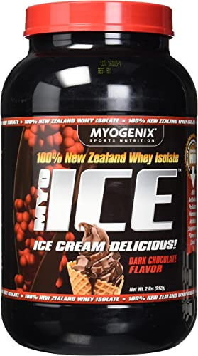 Myogenix Myoice Isolate Powder, Dark Chocolate, 2 Pound