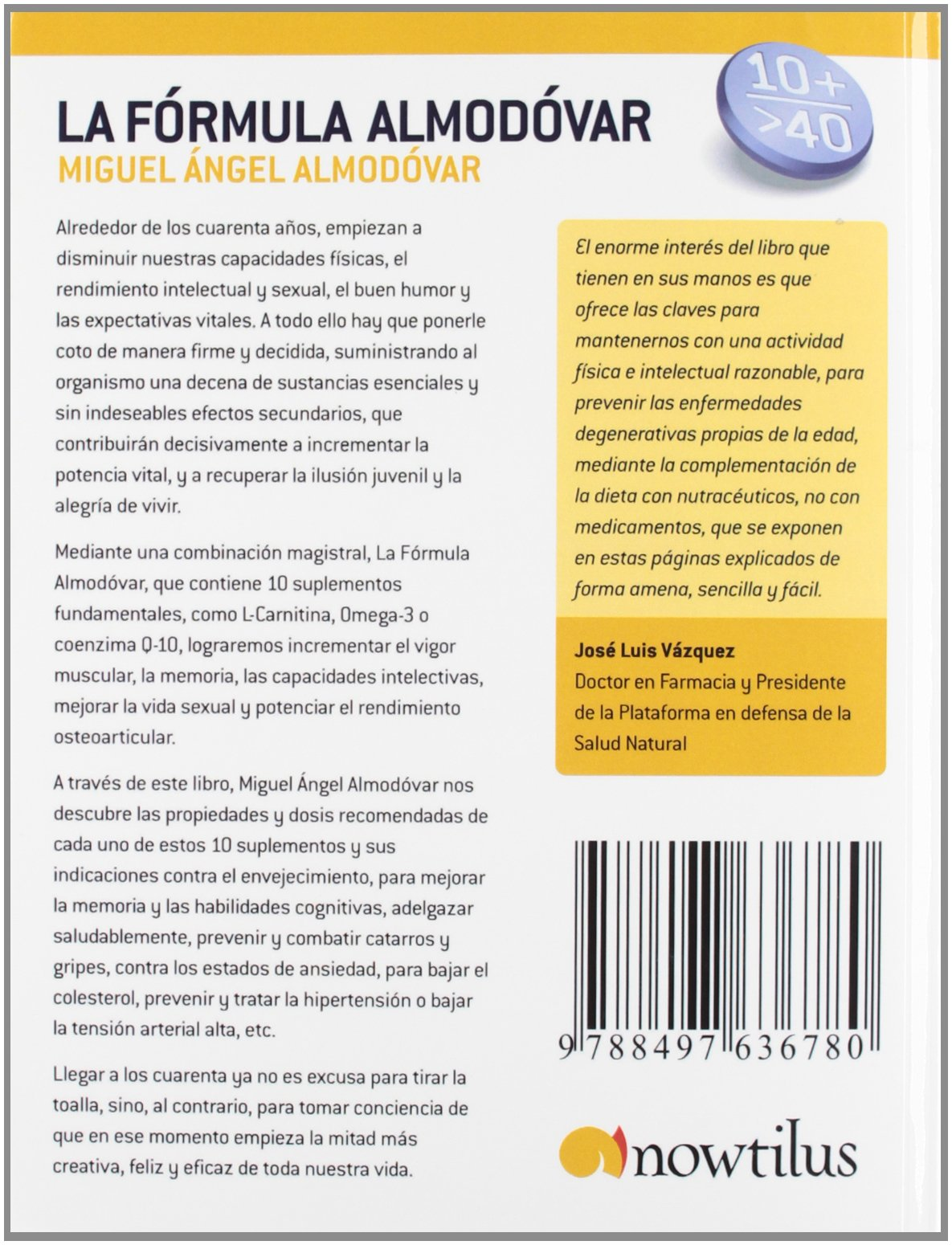 La Fórmula Almódovar (En progreso): Amazon.es: Miguel Ángel Almodóvar Martín: Libros