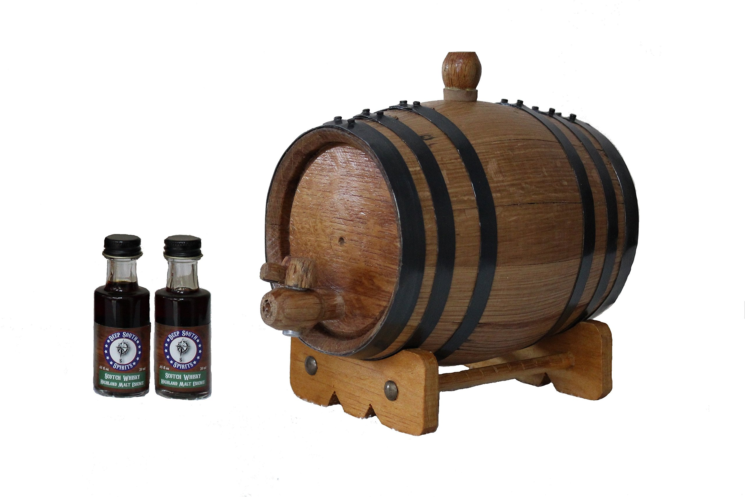 1-Liter American White Oak Barrel Whiskey Kit