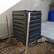 GRAF Garantia M126704 - Compostador 300 l Eco Master Negro: Amazon ...