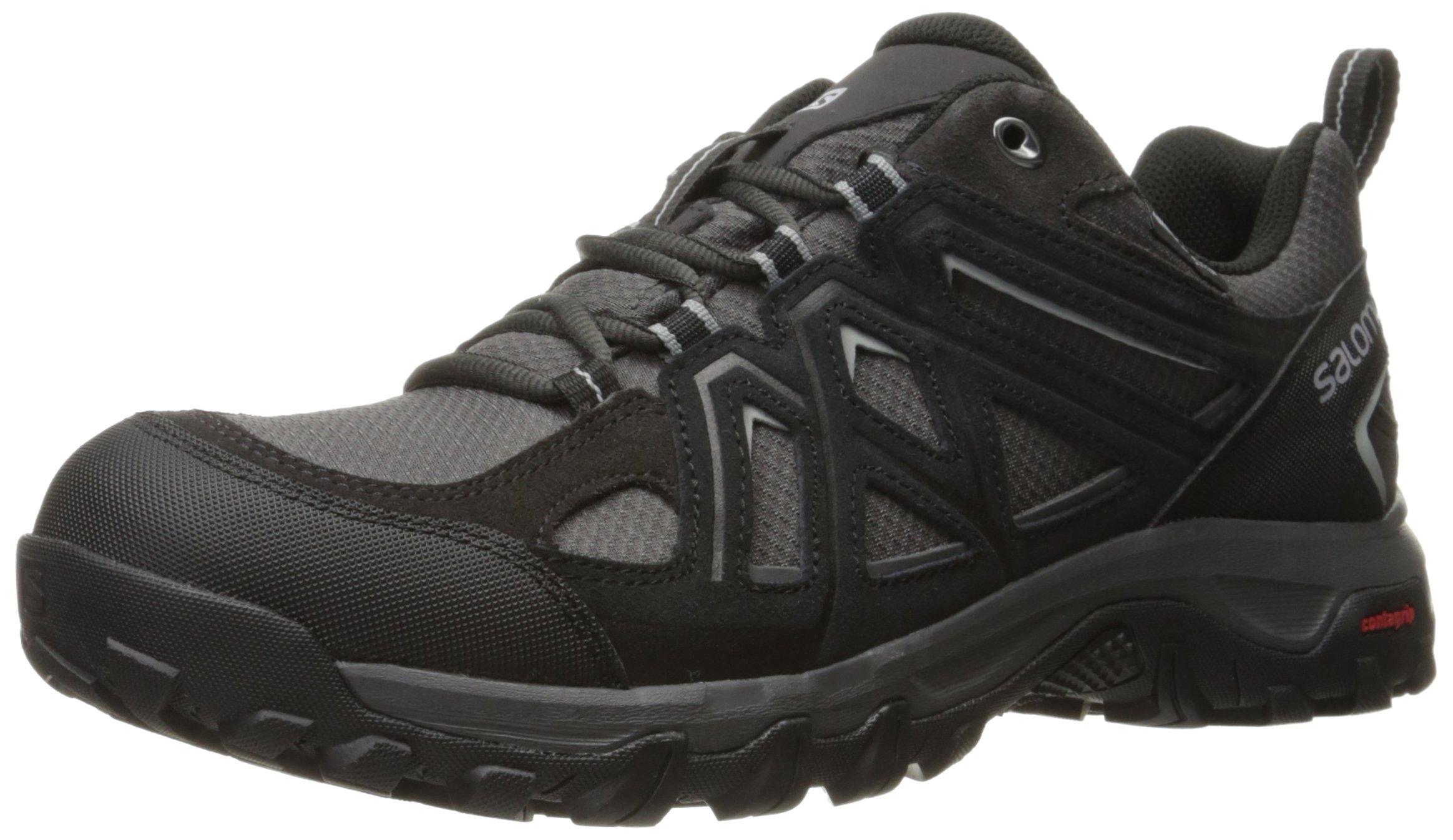 Salomon Men's Evasion 2 CS Waterproof Hiking-Shoes, Magnet, 9 M US