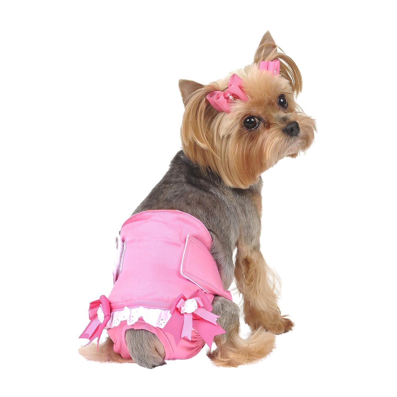 Amazon.com : Maxu0027s Closet Solid Fancy Pants For Dogs : Pet Diapers : Pet  Supplies