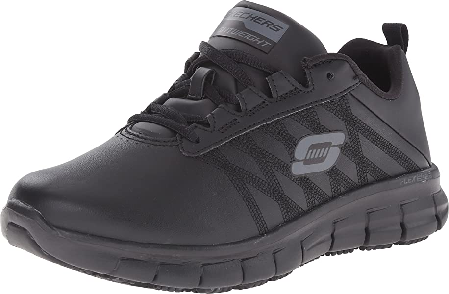 36796c816bd Skechers for Work Women s Sure Track Erath Athletic Lace Work Boot