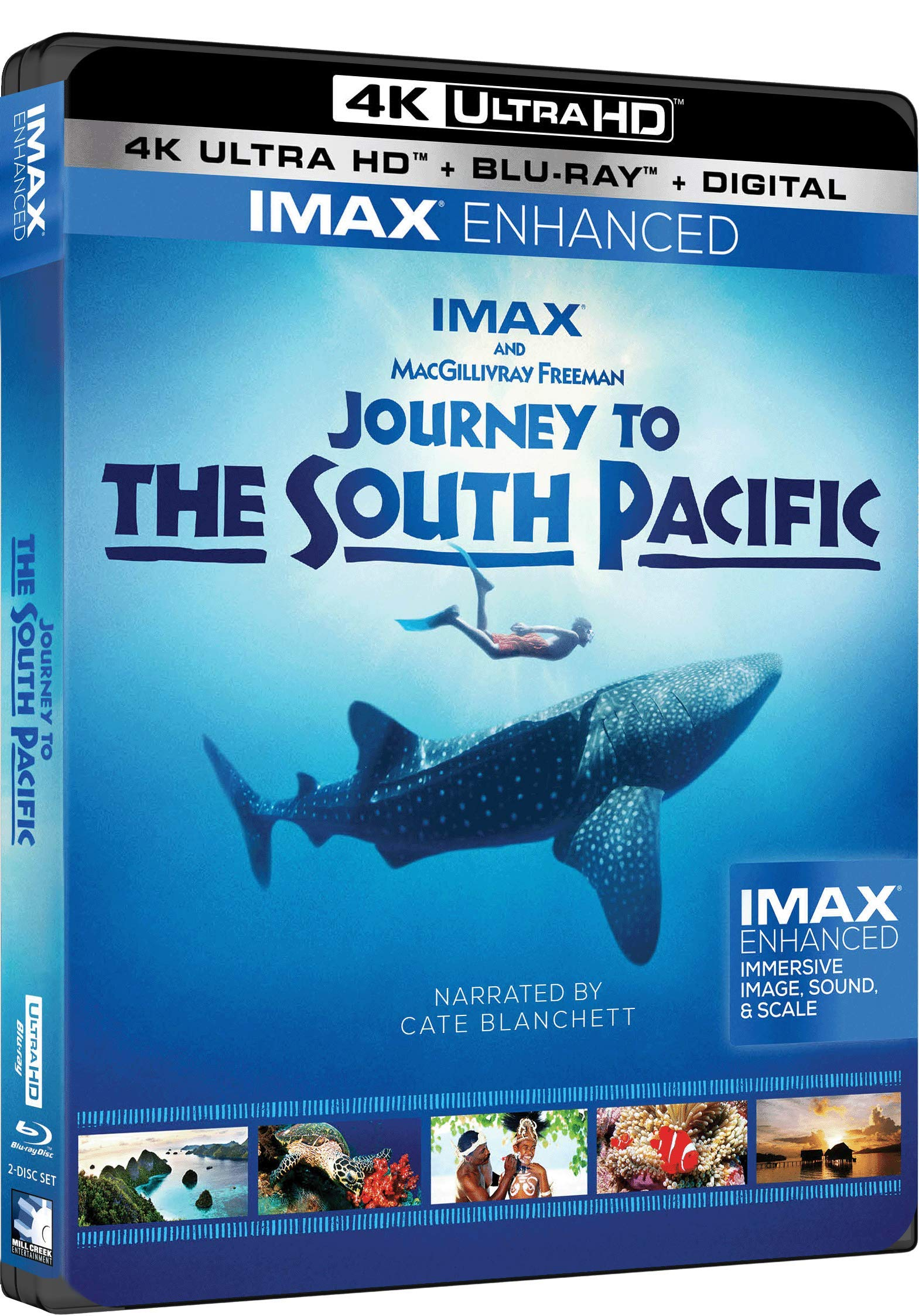 4K Blu-ray : Journey To The South Pacific (With Blu-ray, 4K Mastering, 2 Pack)