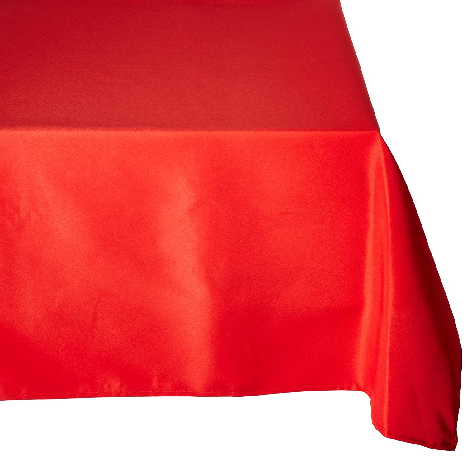 Amazon.com: LinenTablecloth 70 X 120 Inch Rectangular Polyester Tablecloth  White: Home U0026 Kitchen