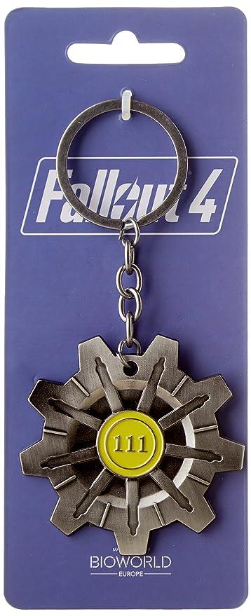 Fallout 4 Schlüsselanhänger Vault 111 [Importación Alemana ...