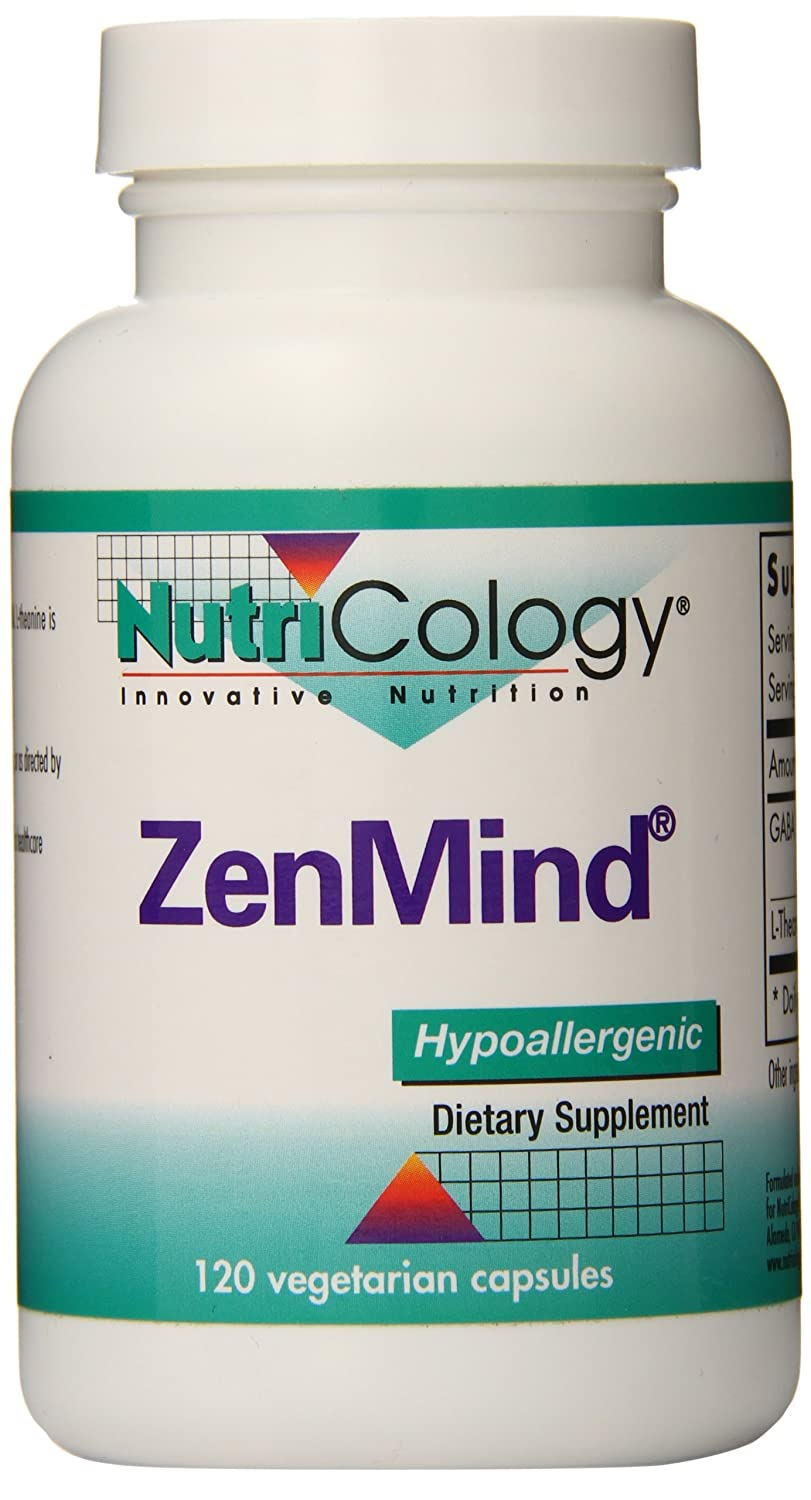 Nutricology Zenmind Capsules, 120 Count