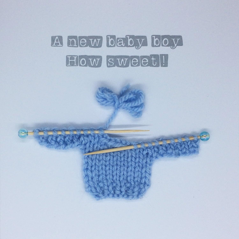 Tarjeta de felicitación para recién nacido de bebé, para baby shower ...