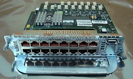 Refurbished Cisco NM-16ESW-PWR 16-Port 10//100 PoE EtherSwitch Module