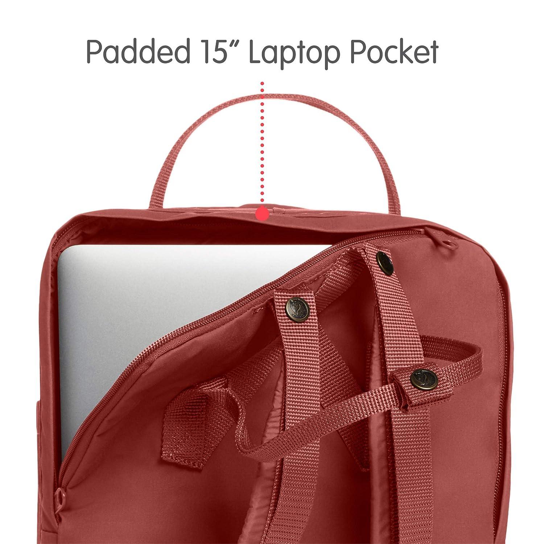 Dahlia Fjallraven Kanken Laptop 15 Backpack for Everyday