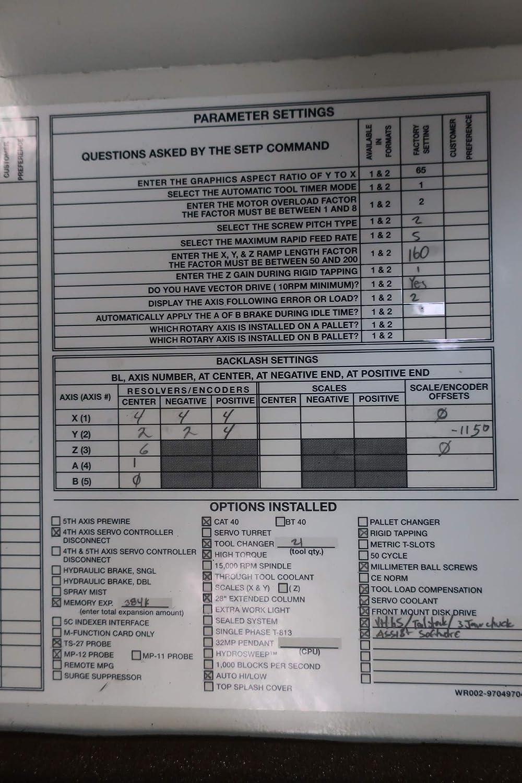 FADAL CNC 88HS Operator Interface Panel D656054: Amazon com