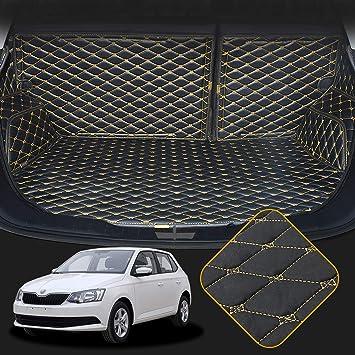 OREALTECH Tapis de Coffre Rangement Protection Couverture de Voiture Imperm/éable Antid/érapant en Caoutchouc sur Mesure Noir pour Mercedes-Benz Klasse GLA X156 2014-2019