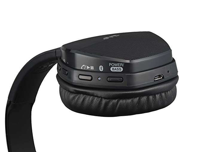 Amazon.com: JVC Bluetooth equipped with wireless stereo headset HA-S55BT-B (Black): Home Audio & Theater
