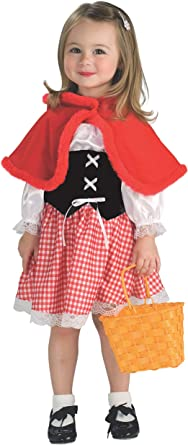 Amazon Com Cute Lil Red Riding Hood Toddler Costume Toys Games