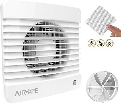 Airope,Ventilador extractor de baño aire 150 mm Silencioso con ...