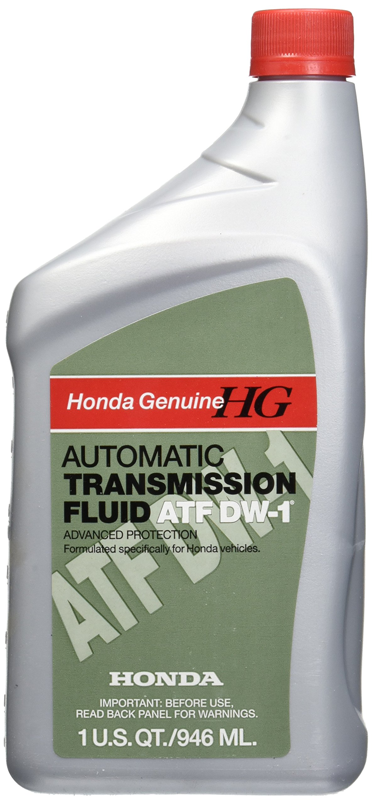 Honda DW-1 Automatic Transmission Fluid, 1 quart, Pack of 12 by Honda